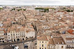 Bordeaux old city view Royalty Free Stock Photo