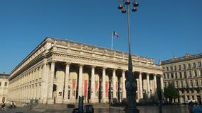 Bordeaux opera Stock Photo