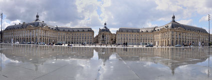 Bordeaux, Palais de la Bourse Stock Photo