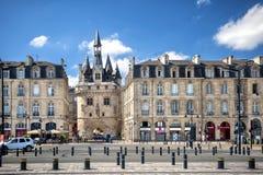 Bordeaux - Place de la Bourse france Images stock