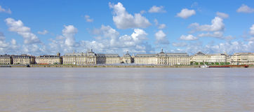 Bordeaux Place de la bourse Stock Images
