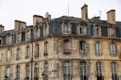 Bordeaux - porto de la lune Fotografia Stock