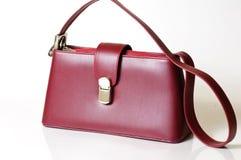 Bordeaux purse Stock Photography