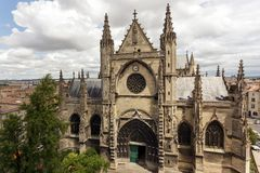 Bordeaux Saint Michel cathedral Stock Photo