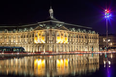 Bordeaux stock echange square Royalty Free Stock Photos