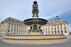 Bordeaux tre Fotografie Stock Libere da Diritti