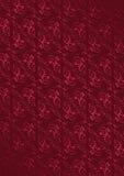 Bordeauxbakgrund med den karmosinröda modellen Royaltyfri Bild