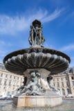 Bordeauxe, Place de la Bourse, Francia Foto de archivo