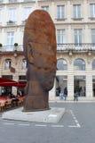 Bordeauxgesicht Lizenzfreies Stockbild