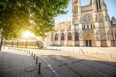 Bordeauxstadt in Frankreich stockfoto