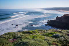 Bordeira beach in South-West Alentejo and Costa Vi Stock Images
