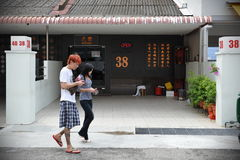 Bordel de Singapura Fotografia de Stock