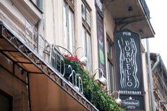 Bordello pub Stock Photo