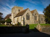Borden-Kirche, Kent Stockbilder