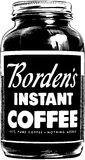 Bordens Instant Coffee Royalty Free Stock Image