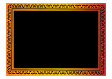 Border. A colorful border. Adobe illustrator file is available Stock Image