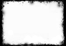 Border. Grunge full-frame border of a 300DPI. Ideal to border your pictures, or design elemen Royalty Free Stock Photos