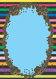 Border. A illustration of a decorative border vector illustration