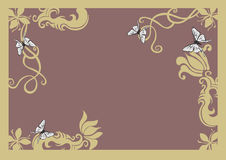 Border. A decorative border Royalty Free Stock Photos