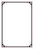 Border. Illustration of rectangle type border Stock Photo