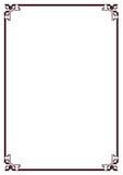 Border. Illustration of rectangle type border Royalty Free Stock Image