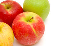 Border of apples Royalty Free Stock Image