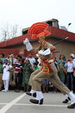 The Border Ceremony of Attari Stock Image