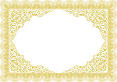 Border for certificate Royalty Free Stock Images