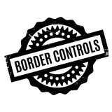 Border Controls rubber stamp Royalty Free Stock Photos