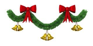 Border cristmas decoration Royalty Free Stock Photo