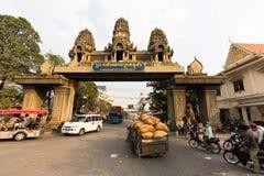 Border crossing CAMBODIA Royalty Free Stock Photos