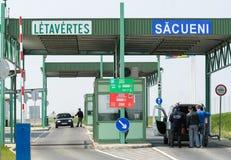 Border crossing point Royalty Free Stock Photos