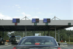 Border crossing Royalty Free Stock Images