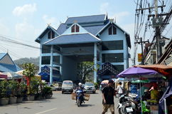 Border crossing between Thailand and Myanmar Stock Photography