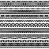 Border decoration elements patterns in black and white colors. Vector illustrations. Border decoration elements patterns in black and white colors. Most popular Stock Photography