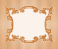 Border Design. Vector illustration border old fashioned style Royalty Free Stock Photos