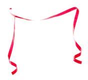 border det röda bandet Arkivbild
