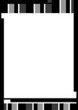 border färglinjen Arkivfoton