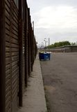 Border fence Royalty Free Stock Image