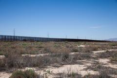Border Fence Stock Image