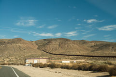 Border Fence USA and Mexico Royalty Free Stock Image