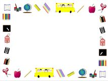 Animated Back to School border or frame