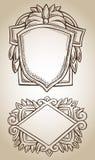 Border frame engraving ornament Stock Photo