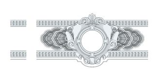 Border Frame Engraving Royalty Free Stock Photography