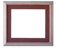 Border frame. Mat mount handwork Royalty Free Stock Images