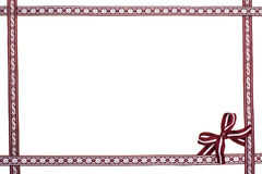 Free Border Frame Of National Latvian Ribbons Royalty Free Stock Photography - 95465377