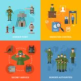 Border Guard Flat Stock Images