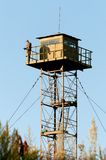Border Guard watchtower Royalty Free Stock Image