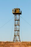 Border Guard watchtower Stock Photo