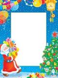 border jul vektor illustrationer
